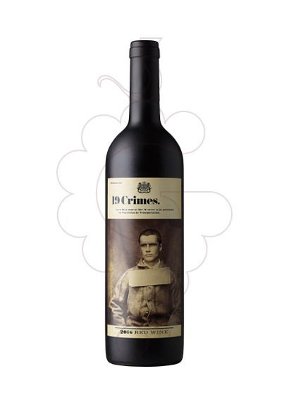 Foto 19 Crimes Red Blend vi negre
