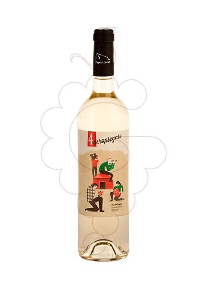 Foto 4 arreplegats blanc 75 cl vi blanc