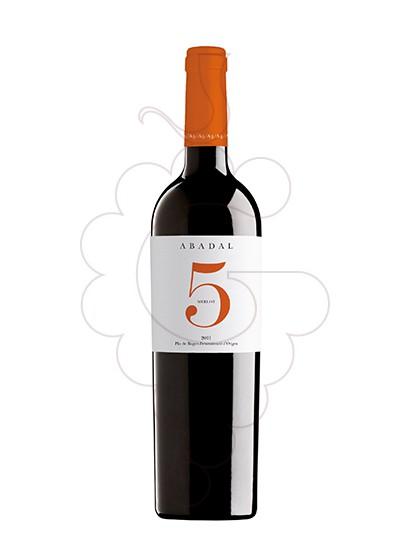 Foto Abadal 5 Merlot vi negre