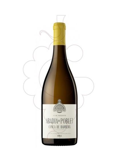 Foto Abadia de Poblet Blanc vi blanc