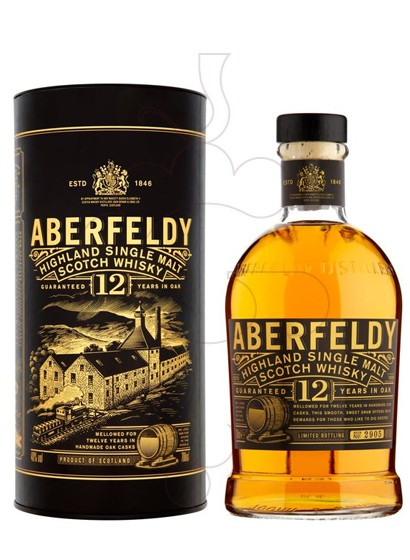 Foto Whisky Aberfeldy 12 Anys