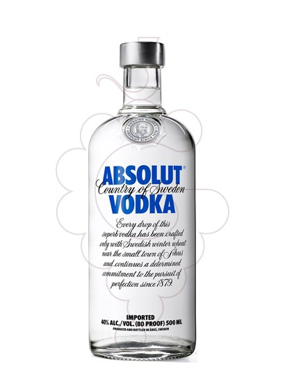 Foto Vodka Absolut