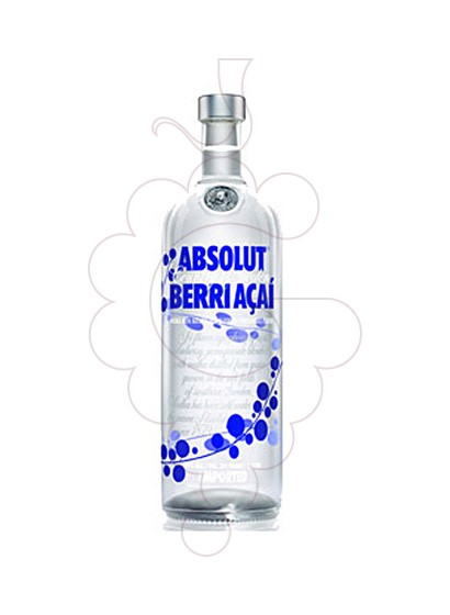 Foto Vodka Absolut Berri Açai