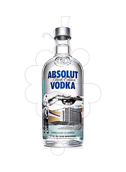 Foto Vodka Absolut Blank Ed. (M. Wagner)