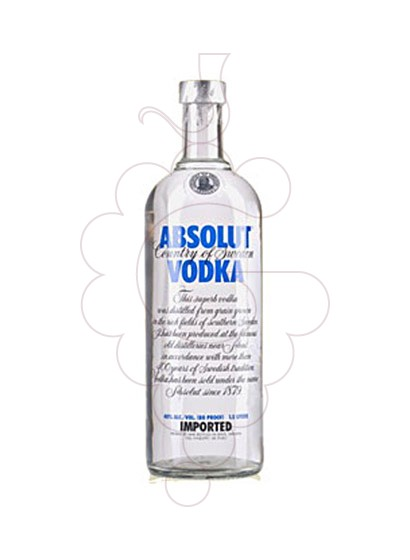 Foto Vodka Absolut