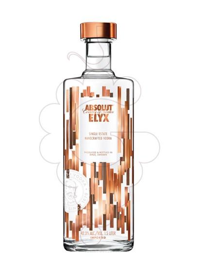 Foto Vodka Absolut Elyx