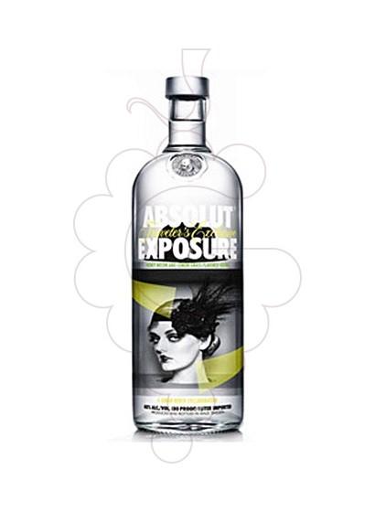 Foto Vodka Absolut Exposure