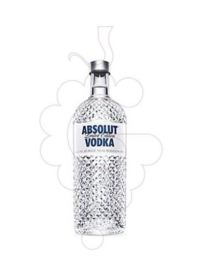 Foto Vodka Absolut Glimmer Edition