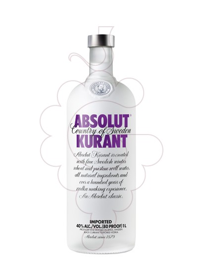 Foto Vodka Absolut Kurant