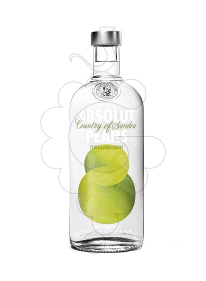 Foto Vodka Absolut Pears