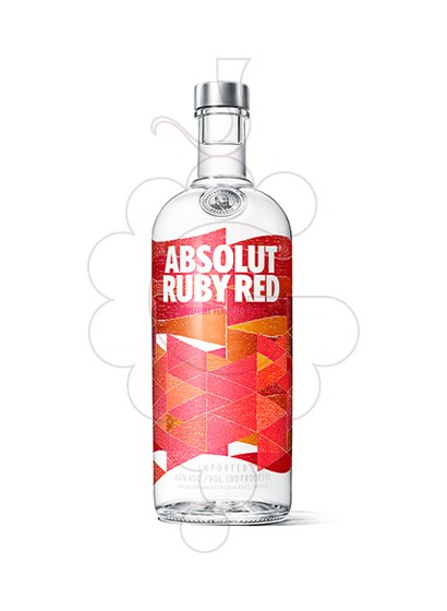Foto Vodka Absolut Ruby Red