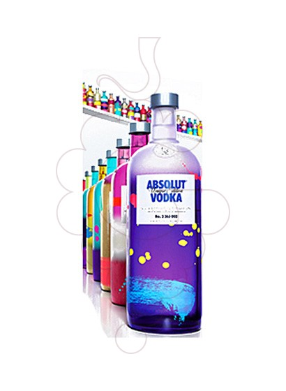 Foto Vodka Absolut Unique Ed.