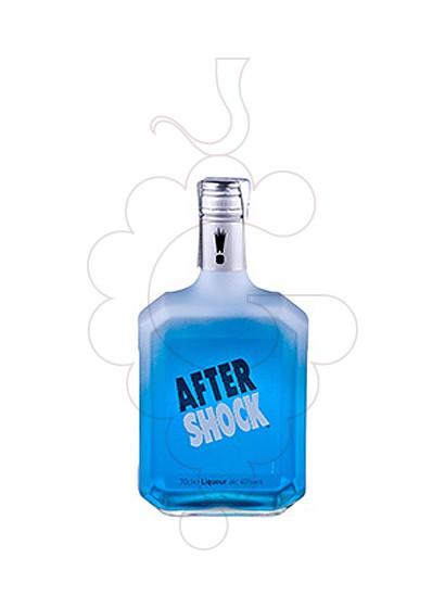 Foto Licor After Shock Citrus Azul