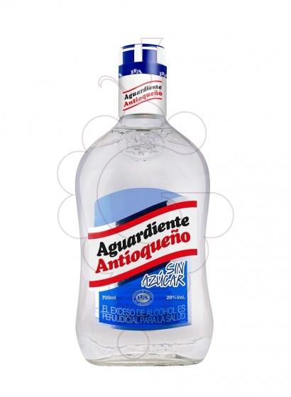 Foto Licor Aguardiente Antioqueño (sense sucre)