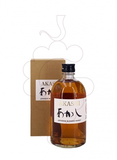 Foto Whisky Akashi Blended