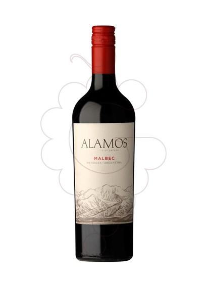 Foto Alamos Malbec vi negre