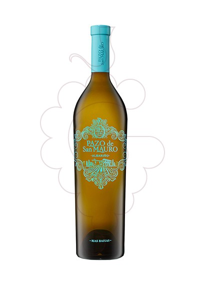 Foto Albariño Pazo San Mauro Magnum vi blanc