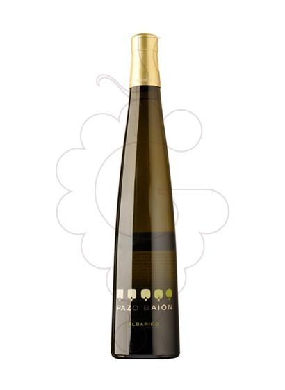 Foto Albariño Pazo Baion vi blanc