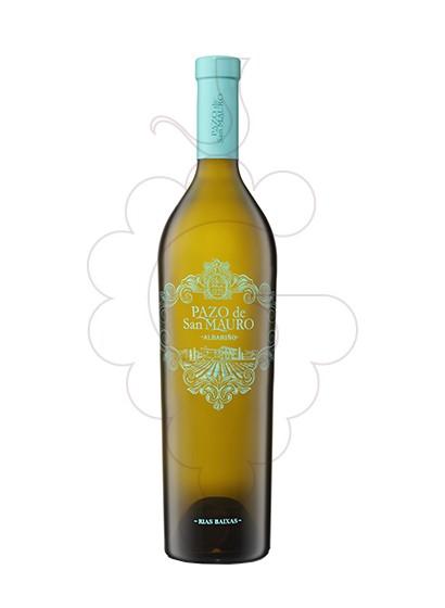 Foto Albariño Pazo San Mauro vi blanc