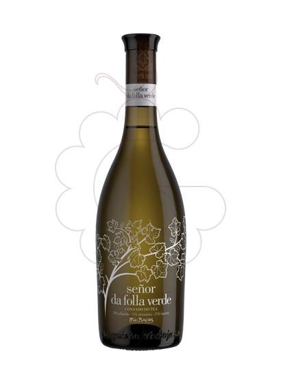 Foto Albariño Señor da Folla Verde vi blanc