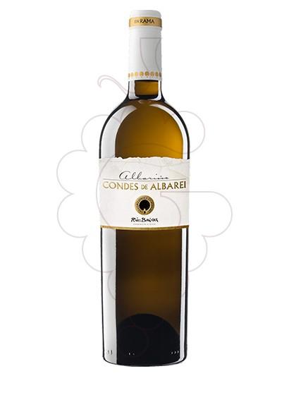 Foto Albariño Condes Albarei en Rama vi blanc