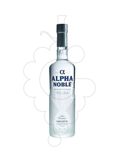Foto Vodka Alpha Noble