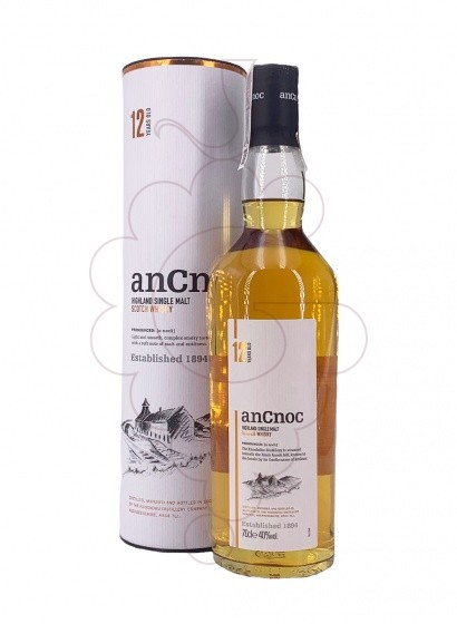 Foto Whisky Ancnoc 12 Anys