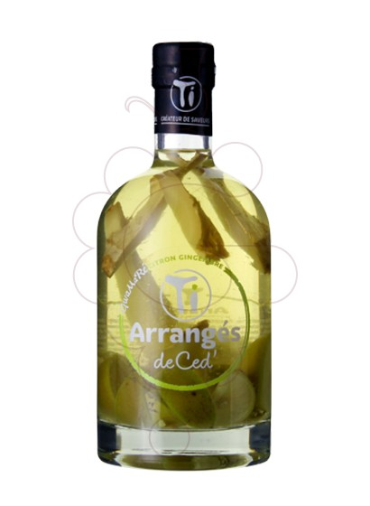 Foto Licor Arranges de ced citron gingemb