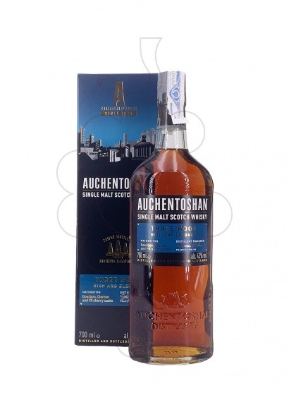 Foto Whisky Auchentoshan Three Wood