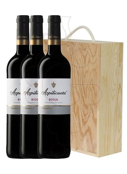 Foto Azpilicueta Crianza Pack 3 u vi negre