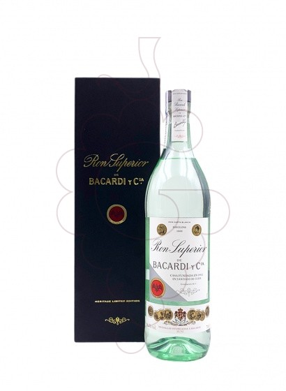 Foto Rom Bacardi Heritage Limited Edition