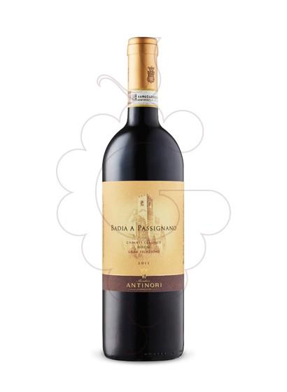 Foto Antinori Badia Passignano Chianti Magnum vi negre