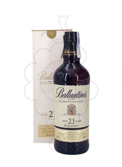Foto Whisky Ballantine's 21 Anys