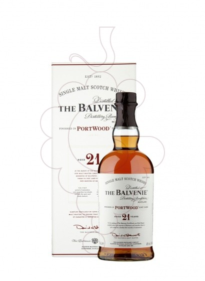 Foto Whisky Balvenie Port Wood 21 Anys