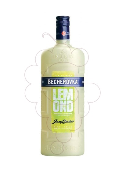 Foto Licor Becherovka Lemond