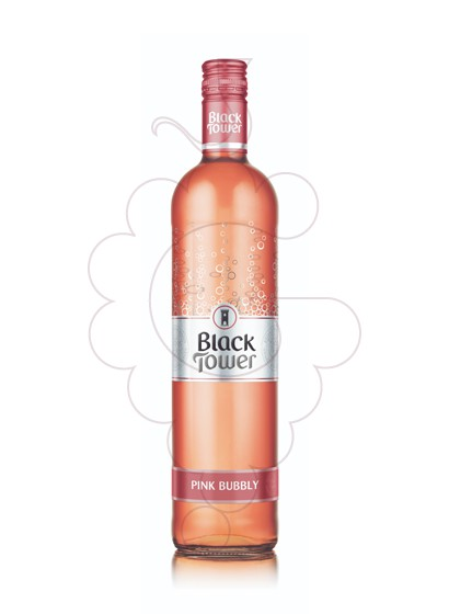 Foto Black Tower Pink Bubbly vi rosat