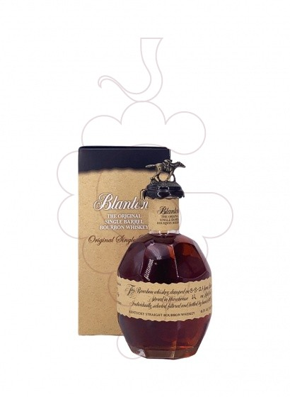 Foto Whisky Blanton's Original S. Barrel