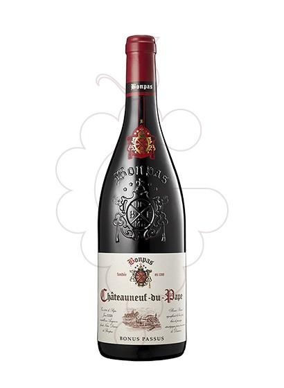 Foto Bonpas Châteneuf-du-Pape Bonus Passus vi negre
