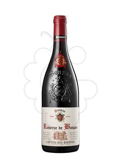 Foto Bonpas Réserve Côtes du Rhône vi negre