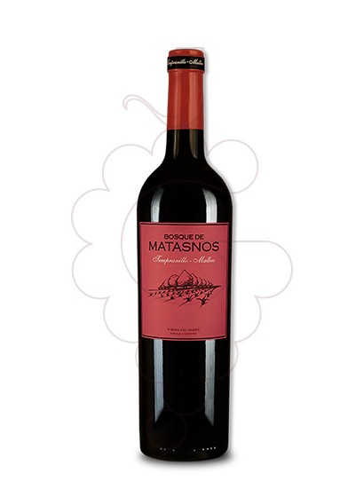 Foto Bosque de Matasnos Tempranillo-Malbec vi negre