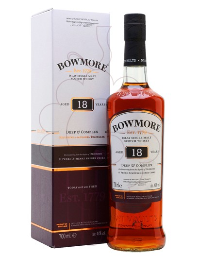 Foto Whisky Bowmore 18 Anys Deep & Complex