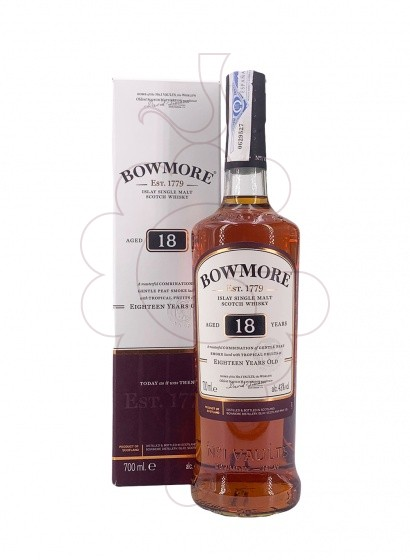 Foto Whisky Bowmore 18 Anys