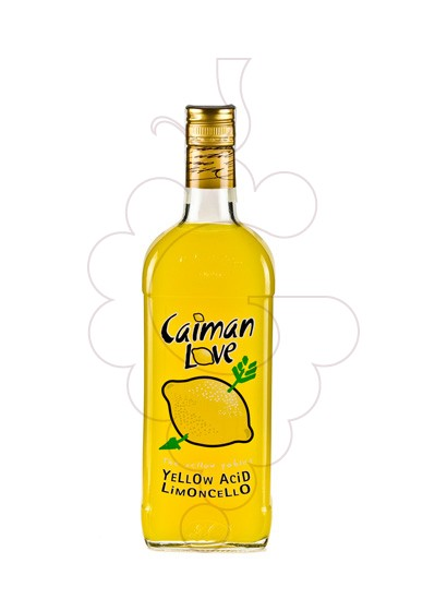 Foto Licor Caiman Love Limoncello