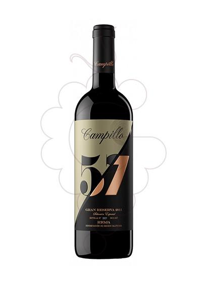 Foto Campillo 57 Gran Reserva vi negre