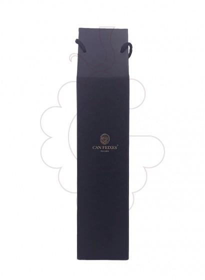 Foto Can Feixes Cabernet Tempranillo Magnum vi negre