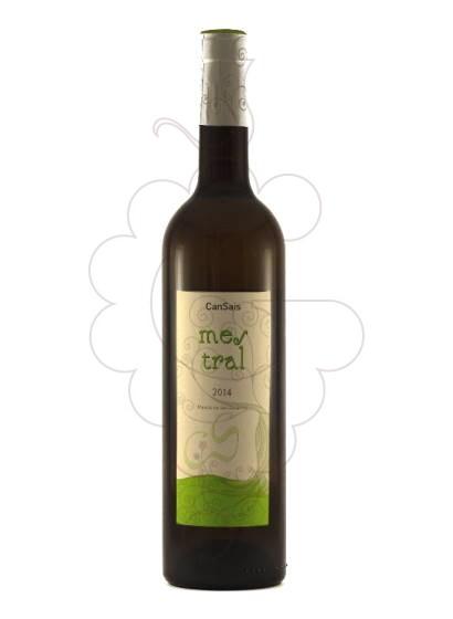 Foto Can Sais Mestral vi blanc