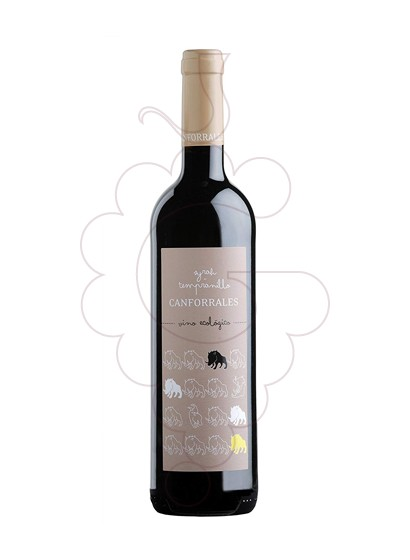 Foto Canforrales tempr-syrah 75 cl vi negre