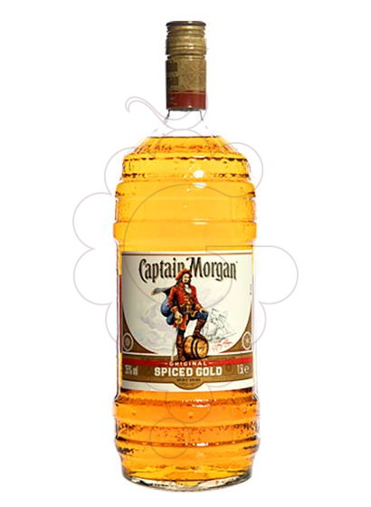 Foto Rom Captain Morgan Spiced Barrel Bottle