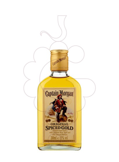Foto Rom Captain Morgan Spiced Petaca