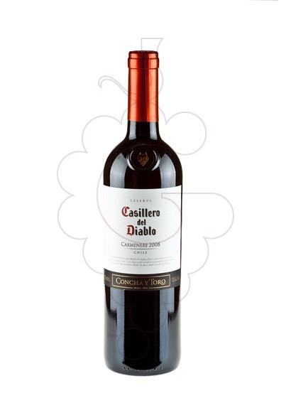 Foto Casillero del Diablo Carmenere vi negre